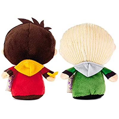 itty bittys Harry Potter Quidditch Pair Harry and Draco Stuffed Animals, Special Edition Set of 2 Stuffed Animals Movies & TV: Toys & Games