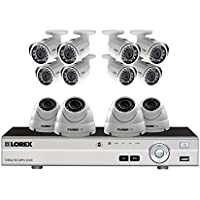 12 camera home security system with HD 1080p cameras