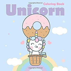 Win A Free Unicorn Coloring Book: For Kids Ages 2-4