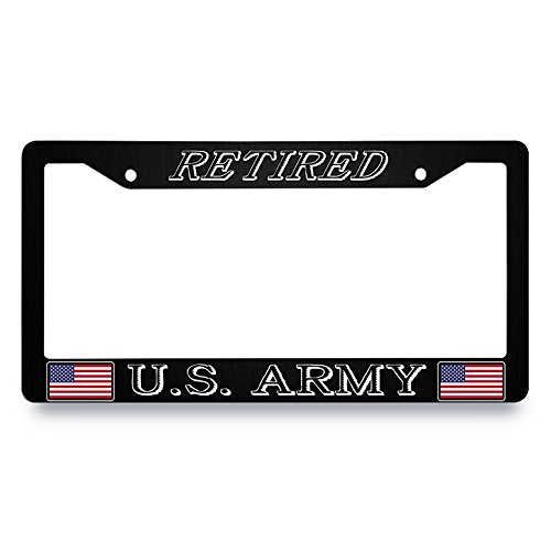 usaf retired license plate frame - 8