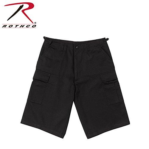 Rothco Longer Style Bdu Short, Black, - Black Style Short