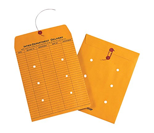 RetailSource E120901OI10 1-Sided Kraft Inter-Department Envelopes, 12