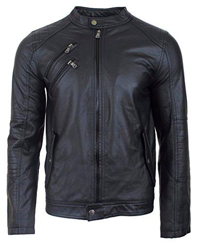 Urban Republic Mens Leather Jacket