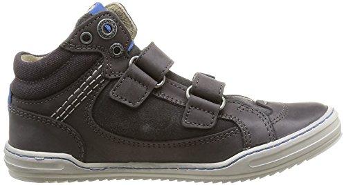 Kickers Jared, Jungen Sneaker Grau - Gris (Gris Foncé/Bleu)