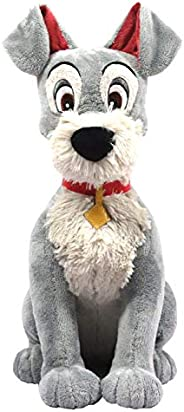 Disney Classics Friends Large 13-Inch Plush Tramp, Amazon Exclusive