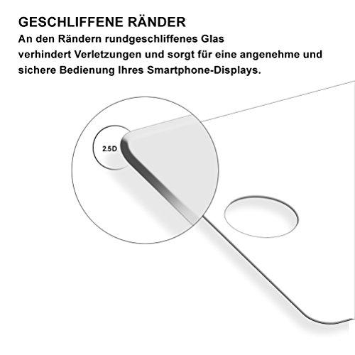 Yayago Coque de protection ultra-fine (0,8mm) pour Apple iPhone X silicone transparent avec motif Spring + Yayago Protection d'écran en verre trempé 0.26mm ultra résistant 9H pour Apple iPhone X