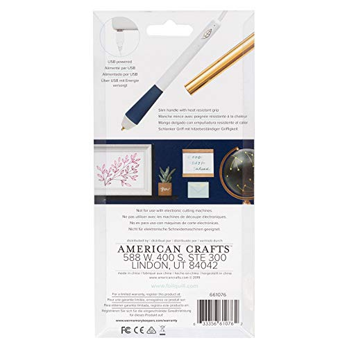 We R Memory Keepers Bold Tip Foil Quill Pen, 2 Count