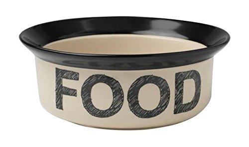 Petrageous Designs Pooch Basics 8' Pet Bowl, Food