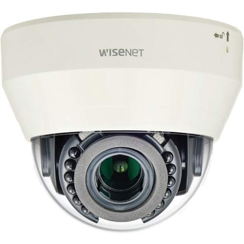 Hanwha Techwin LND-6071R L Series Indoor Dome Camera, 2MP @ 30fps, vari-Focal Lens 3.1x (3.2~10mm) (101.6° ~31.3°), Double codec H.264/MJPEG, Wisestream II, 120dB WDR, IR LEDs, Hallway View, SD car