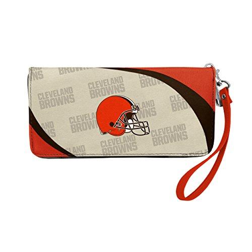 NFL Cleveland Browns Curve Zip Organizer Wallet