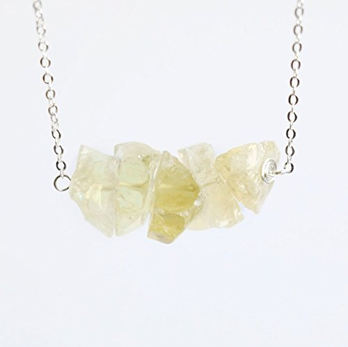 Apatite Natural - Yellow Apatite Necklace Raw crystal necklace, natural crystal necklace gemstone necklace raw quartz necklace natural stone necklace pendant healing crystal necklace