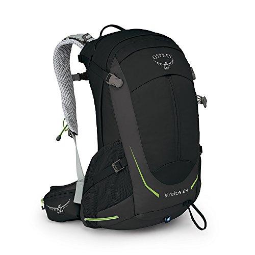 Osprey Packs Stratos 24 Backpack, Black, o/s, One Size