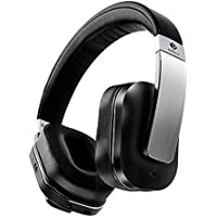Active / Adaptive Noise Cancelling Isolation Headphones + Protection, Adjustable for Adults or Kids, Bluetooth Wireless or Wired, Foldable with Custom Carrying Case, Over Ear Stereo with Microphone