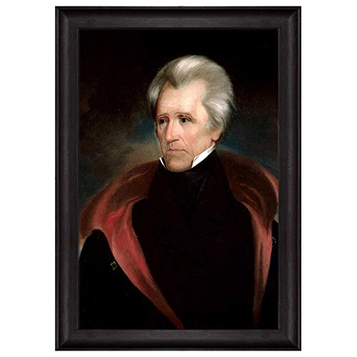 Portrait of Andrew Jackson by Ralph Eleaser Whiteside Earl (7th President of the United States) American Presidents Series Framed Art Print