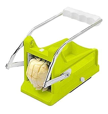 Brieftons cortador patatas: perfecto para hacer chips, patatas fritas caseras, verduras Porras y