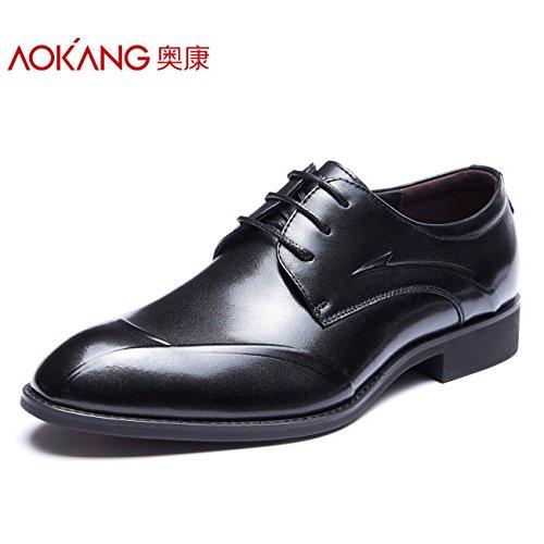 Aemember nella caduta di uomini vestono scarpe uomini e consigli Business Office di indossare calzature comode ,44, nero