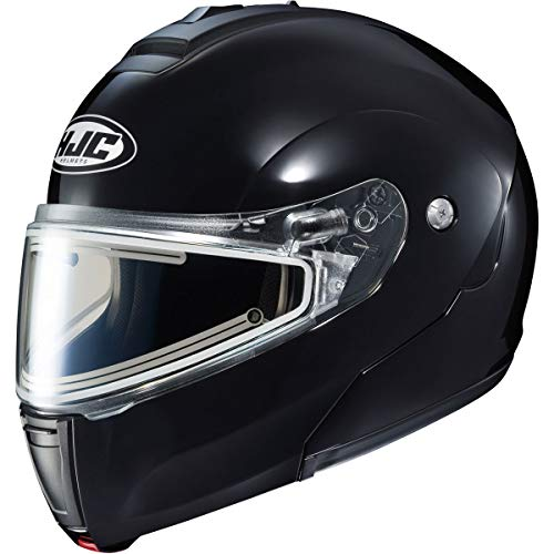 - HJC CL-Max 3 Men's Snowmobile Helmet With Electric Shield - Black/Medium
