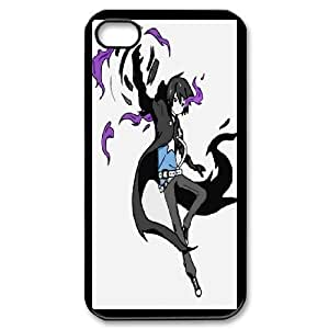 Generic Case Black Rock Shooter For iPhone 4,4S B8U7788694
