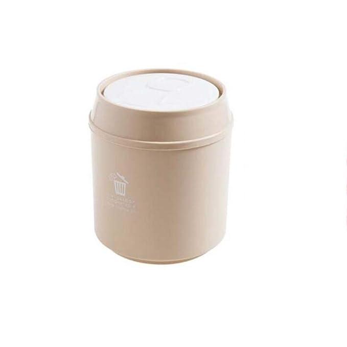 LXY Mini Papelera de sobremesa Mesa de café pequeña Cesta de Papel ...