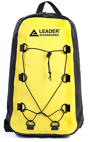 Leader Accessories Waterproof Backpack Dry Bag for Hiking Climbing Kayaking  Rafting 7aa0105d3ed65