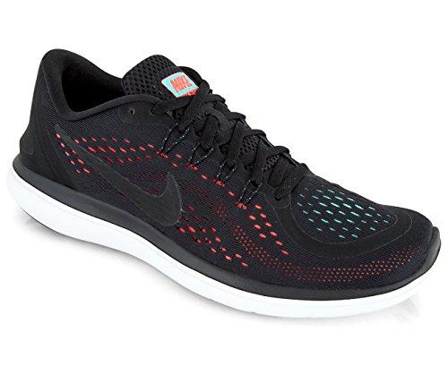 Punch Damen Shoe Nike Free Sneaker Sense RN Black Running Women's Green Aurora Hot vddpRq1x