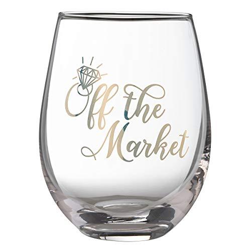Lillian Rose G117 OM Market Stemless Wine Glass, 4.75