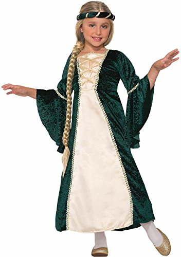 Lady Robin Hood (Forum Novelties Kids Lady Of Sherwood Costume, Green,)