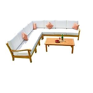 41UdVmdNg3L._SS300_ Best Teak Patio Furniture Sets