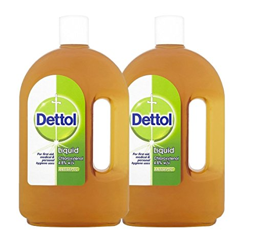 Dettol Antiseptic Liquid from England 750ml Bottle (Pack of (Dettol Antiseptic)
