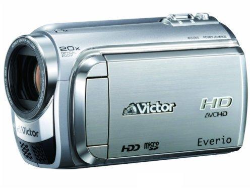 JVCケンウッド ビクター 60GBハードディスクムービー シルバ- GZ-HD300-S   B001QU41AS