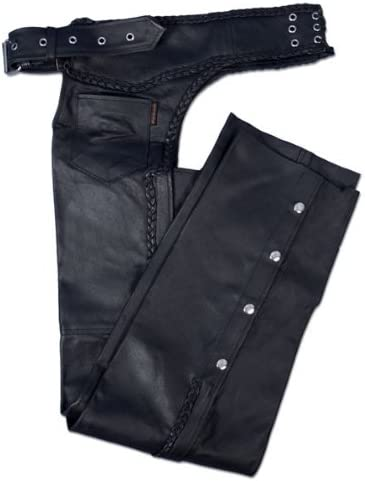 Hot Leathers Heavyweight Leather Chaps