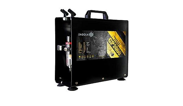 Sagola 10620801 - Compresor piston cp2000 220/50 1/4 c.v.: Amazon.es: Bricolaje y herramientas
