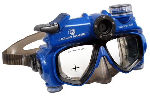 Liquid Image 5.0MP Scuba Series Underwater HD Video Mask (Medium) ()