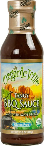 Organicville Tangy BBQ Sauce Gluten Free -- 13.5 oz - 2 pc