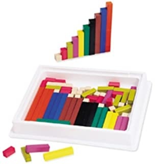 Amazon.com: Connecting Cuisenaire Rods Introductory Set: Office ...