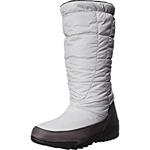 Kamik Women's Nice Insulated Winter Boot, Grey, 7 M US