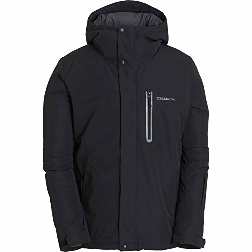 Billabong Men's All Day Snowboard Jacket, Black, M (Billabong Snow Jackets)