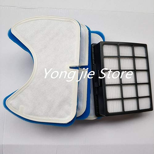 HBK 4(1 Filter +3set Filter Sponge) Vacuum Cleaner Filter Suitable for Samsung DJ97-00492A SC6520 SC6530