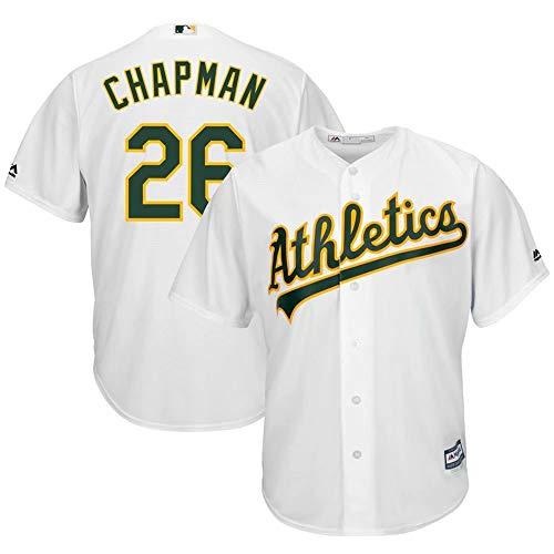 VF LSG Matt Chapman #26 Oakland Athletics White Green Cool Base Jersey for Men Women Youth