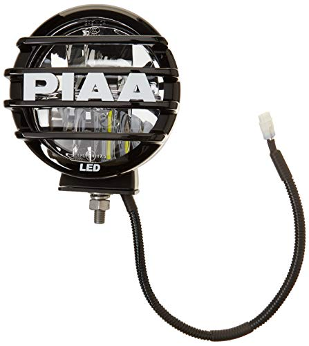 PIAA 05572 LED Driving Lamp Kit; White; 5 in; LP550; Incl. 2 Lights; Wiring Harness; Relay; Switch; 2 Grills; SAE Compliant;
