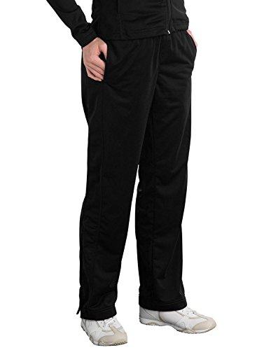 Sport-Tek LPST91 Ladies Tricot Track Pants - Black - 4XL