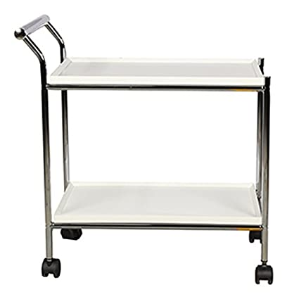 HomeTown Hazel Serving Trolley (White)