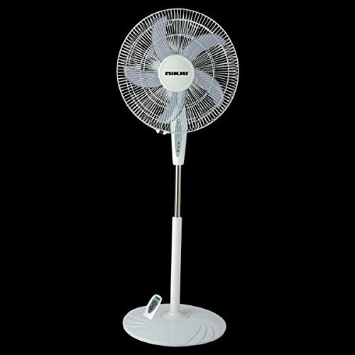 NIKAI NPF1634RT(16) Pedestal Fan with Remote 220 Volts. (Will NOT Work in USA)