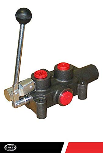 (CHIEF G Series P80 Directional Control Valve: 1 Spool, 3-pos. Spring center, 21 GPM, 3625 PSI, with SAE #10 Work and SAE #12 Inlet/Outlet Ports, 2500 Relief Setting, 220994)