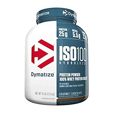 Dymatize ISO-100 - 2,2 kg Fudge Brownie: Amazon.es: Alimentación y ...