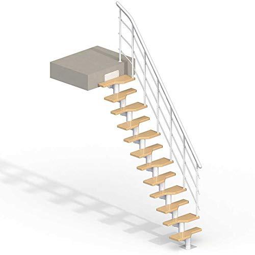 (Lugano Modular Staircase Kit - White)