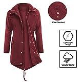Women's Raincoats Waterproof Rain Jacket Active