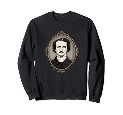 Gothic Adult Sweatshirt - Edgar Allan Poe Sweatshirt Gifts Victorian Gothic Frame