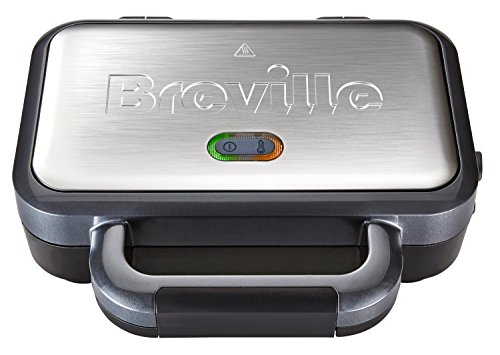 Breville VST041 Deep Fill Sandwich Toaster, Stainless Steel - Silver