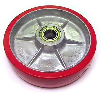 Eagleman A - Steer Wheel Assembly, Poly On Aluminum Hub with Bearings